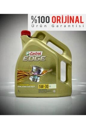 CASTROL Edge 5w-30 Ll 5 Litre ( Vw Onaylı Dpf'li ) Üretim ( 2020 )
