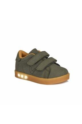 Vicco Rio Erkek Çocuk Haki Işıklı Spor Ayakkabı