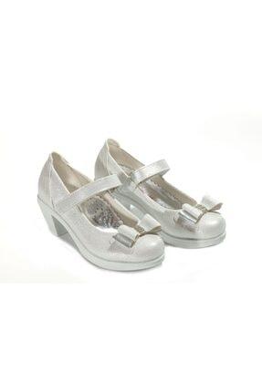 Kid's World Kız Çocuk Beyaz Topuklu Ayakkabı High 3320