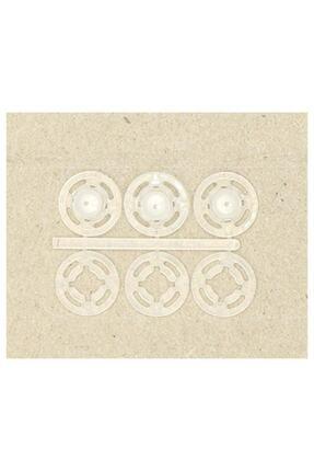 elisihobbymarket Şeffaf Plastik 15mm Çıtçıt X 3 Çift