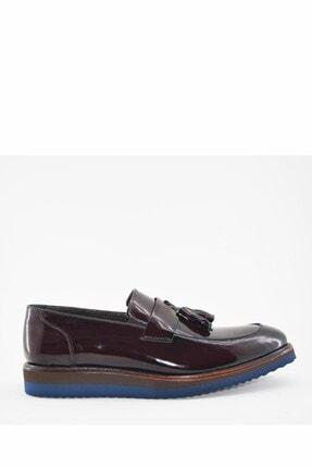 İgs Erkek Deri Günlük Ayakkabı I1811459-1-1 M 1000 Bordo Açma-siyah
