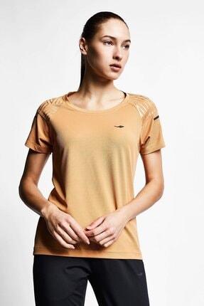 Lescon Kadın Kahverengi Kısa Kollu T-Shirt 21b 2012