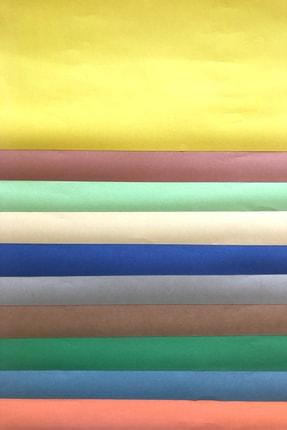 colortouch Karışık Renkli Fon Kartonu | 50x70 Cm 10'lu Rulo