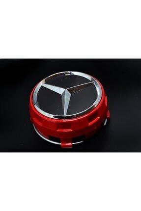 MERCEDES W176 Jant Göbeği Kırmızı (4 Adet)orjinal Oem Numarası A0004000900