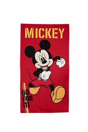 Özdilek Mickey Mouse Go Disney Lisanslı Kadife Plaj Havlusu 70x130