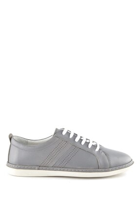 İgs Erkek Gri Deri Günlük Ayakkabı I191505-3 M 1000