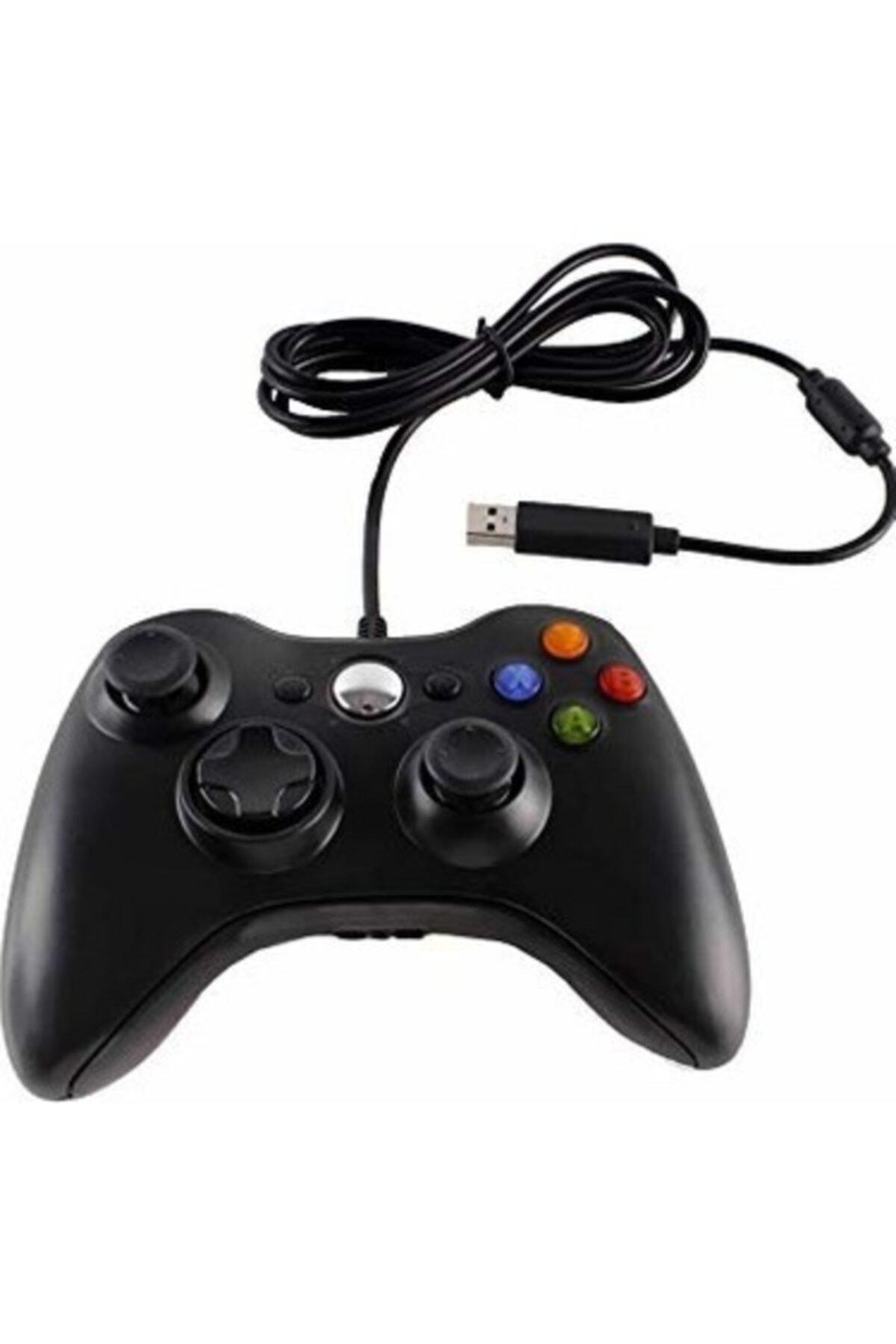 CAN Xbox 360 Pc Uyumlu Wired Kablolu Kol Gamepad Joystick Controller 1