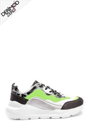 Derimod Kadın Zero Kumaş Detaylı Sneaker