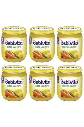 Bebivita Sebze Karışımı 125 gr 6 Adet
