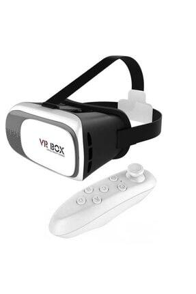 Ayzek Vr Box Vr-01 3d Kumandalı Android Ve Ios(4,7-6 Inç)akıllı Telefonla Uyumlu Sanal Gerçeklik Gözlüğü