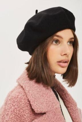 Adx Şapka Kadın Siyah Fransız Ressam Bere Şapka