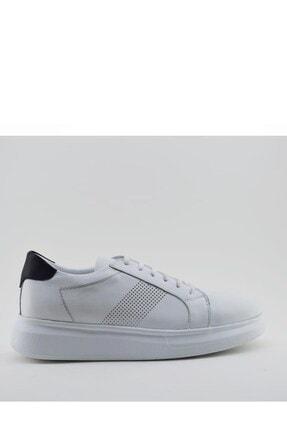 İgs Erkek Deri Günlük Ayakkabı I21s-e191-1 M 1000 Beyaz