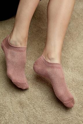 Penti Gül Kurusu Shiny Sneaker Patik Çorap
