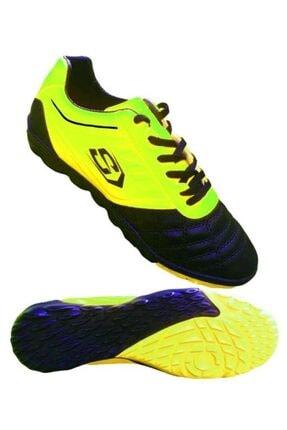 Liggo Erkek Yeşil Titan Halısaha Ayakkabısı Futbol Ayakkabısı