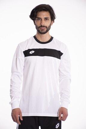 Lotto T-shirt Uzun Kollu Erkek Beyaz Lucca Tee Ls Pl