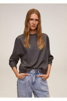MANGO Woman Kırçıllı Sweatshirt