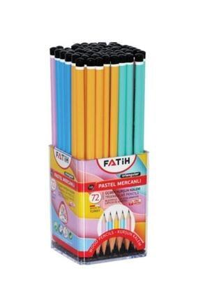 Fatih Kurşun Kalem Üçgen Mercanlı Pastel Renkli Fa12070kl00 (72 Li Paket)
