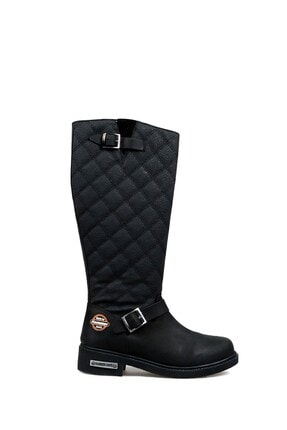 Hammer Jack Kadın Siyah Çizme (10215935-ZSIY)