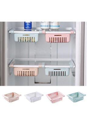 Acr Çok Amaçlı Uzayıp Kısalabilir Buzdolabı Düzenleyici Sepeti Rafı (aa21yt1020)