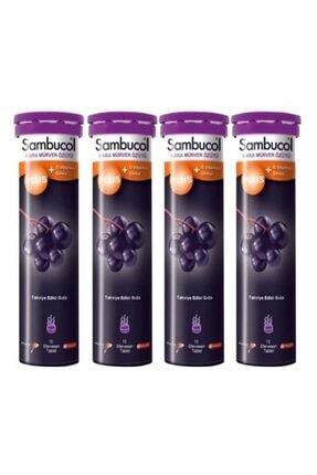 Sambucol Efervesan 15 Tablet 4 Adet