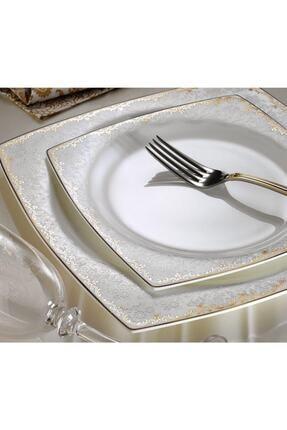 Aryıldız Bone Square Porselen 60 Prç Yemek Takımı 31019
