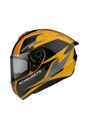 MT Helmets Targo Pro Sound D3 Helmet Gold