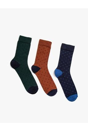 Koton Erkek Kiremit Çorap