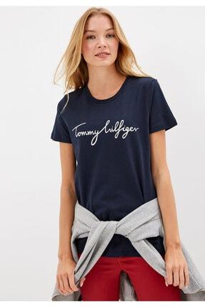 Tommy Hilfiger Heritage Logo Kadın Tshirt