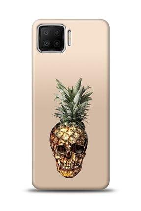 MobilCadde Oppo A73 Uyumlu Skullapple Resimli Kılıf