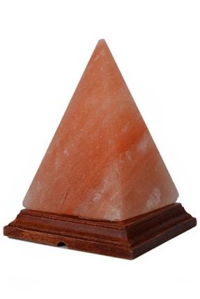 SULSALT Piramit Figürlü Himalaya Tuz Lambası | Orijinal Himalaya Kaya Tuzu Lambası 2-3 Kg