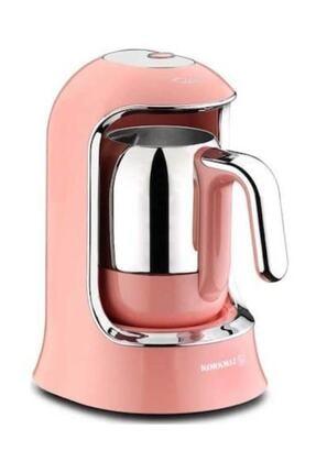 KORKMAZ A860 Kahvekolik Pembe Kahve Makinesi