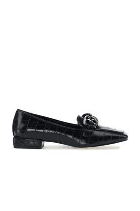 İnci Irbıt.k.z 1pr Siyah Kadın Loafer Ayakkabı