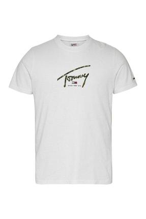 Tommy Hilfiger ErkekERKEK T-SHIRTDM0DM10945.YBR