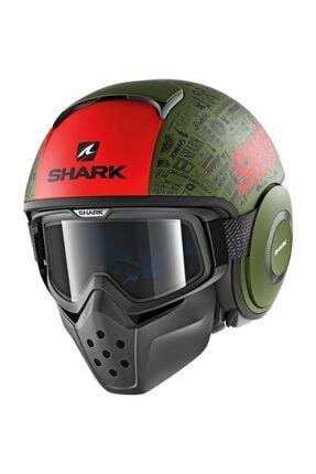 Shark Drak Tribute Yeşil Motosiklet Kaskı
