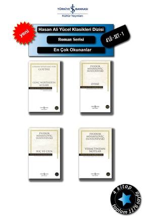 İş Bankası Yayınları Hasan-ali-yücel-klasikleri-en-çok-okunan: Öteki Suç Ve Ceza Yeraltından Notlar...4'lu-set-1