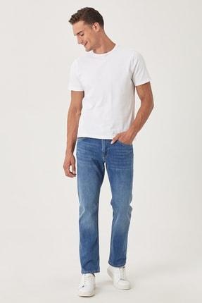 Lee Brooklyn Straight Fit Normal Bel Denim Esnek Jean Kot Pantolon