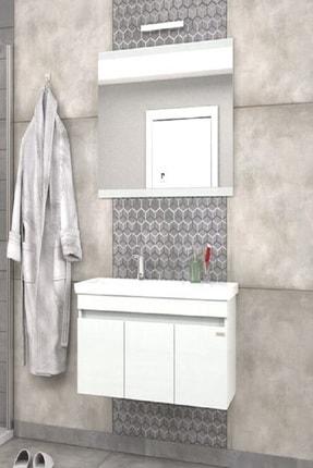 Pierre Cardin Summer 100 Cm Snow White Banyo Dolabı Beyaz Renk