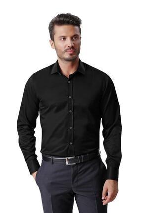 Ottomoda Erkek Uzun Kollu Düz Gömlek
