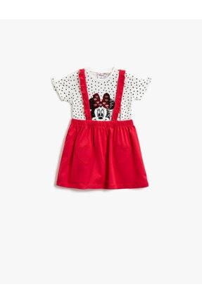 Koton Minnie Mouse Takim Lisansli Pamuklu