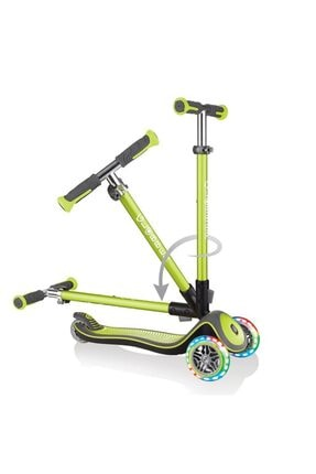 Globber Scooter Elite Deluxe Işıklı/Yeşil