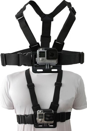 Amasra Go Pro ve Aksiyon Kamera Göğüs Bağlantı Askısı Aksiyon Kamera Sabitleme Aparatı
