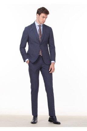 Ramsey Çizgili Dokuma Takım Elbise