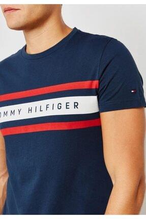 Tommy Hilfiger Signature Print Tshirt Organic Cotton