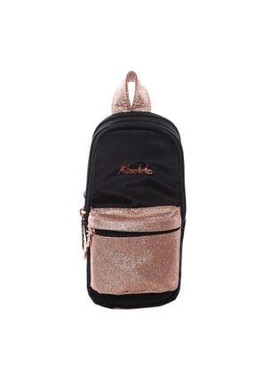 KAUKKO 2299 Magıc Dreams Junıor Bag Kalem Çantası Simli-siyah