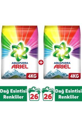 Ariel Dağ Esintisi Renklilere Özel 8 kg AquaPudra Toz Çam Det (4X2 )
