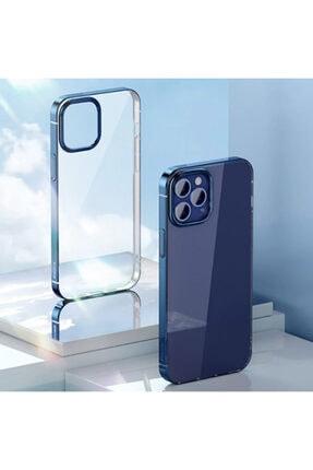 Baseus Glitter Iphone 12 Pro Max Uyumlu Şeffaf Lüx Silikon Kılıf Soft Tpu Kılıf