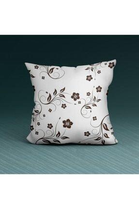 Artikel Desenli Dekoratif -3 Yastık Kırlent Kılıfı 45x45 Cm