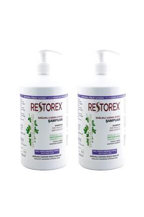 Restorex Şampuan 1000 ml Sarmaşık Özlü Ekstra Direnç X 2 Adet