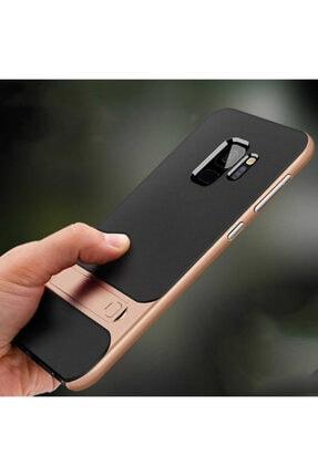 Samsung Galaxy S9 Plus Kılıf Zore Standlı Verus Silikon