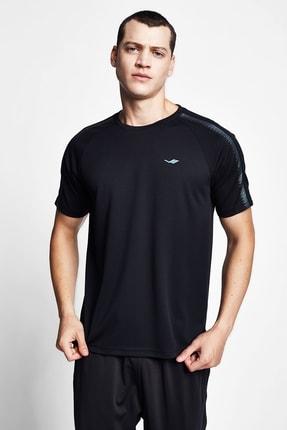 Lescon Erkek Siyah Futbol Kısa Kol T-Shirt 20b-1030